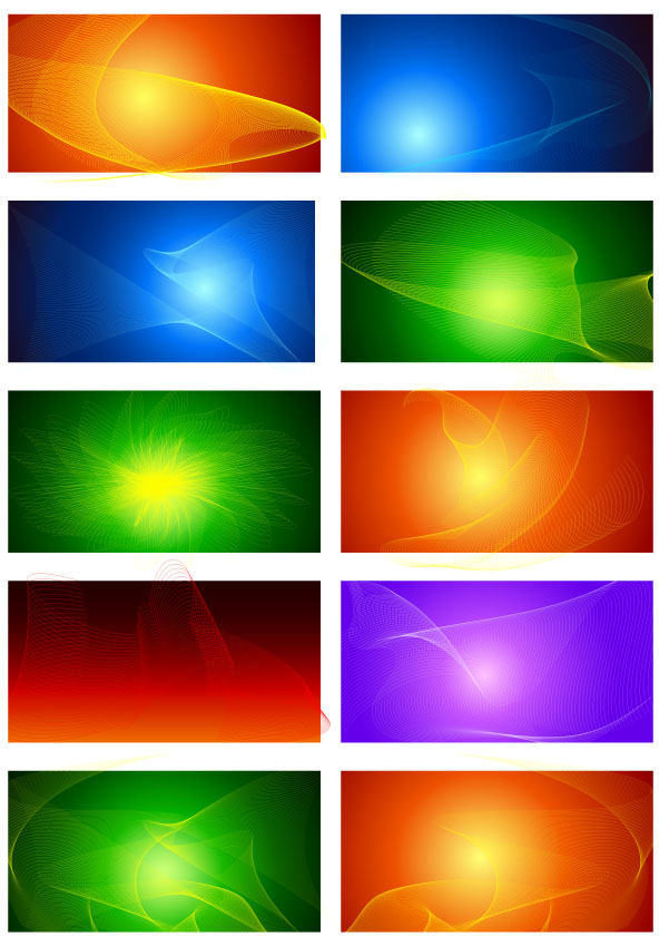 free vector Visual Effect Design 1
