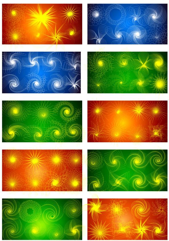 free vector Visual Effect Design 3