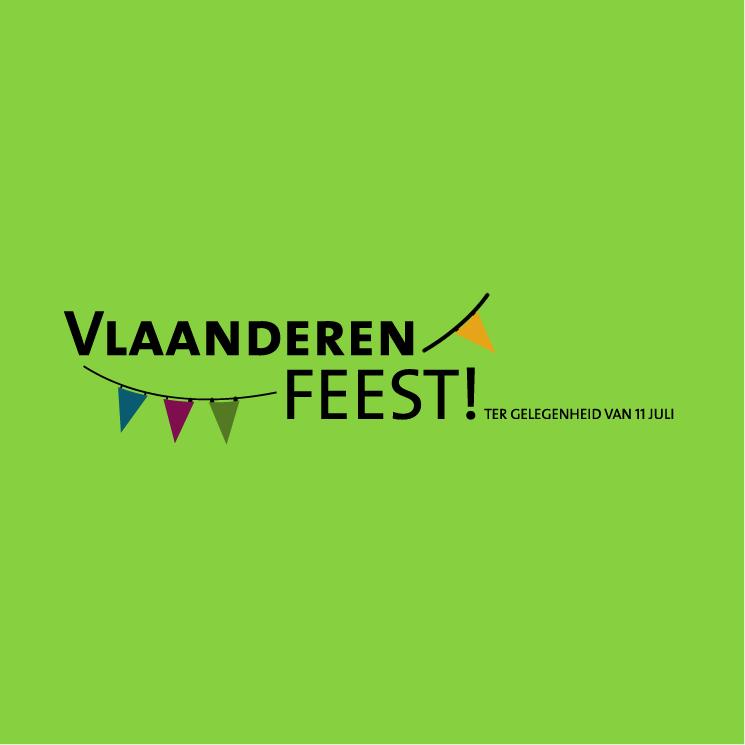 free vector Vlaanderen feest 1
