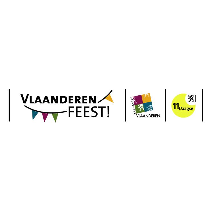 free vector Vlaanderen feest 2