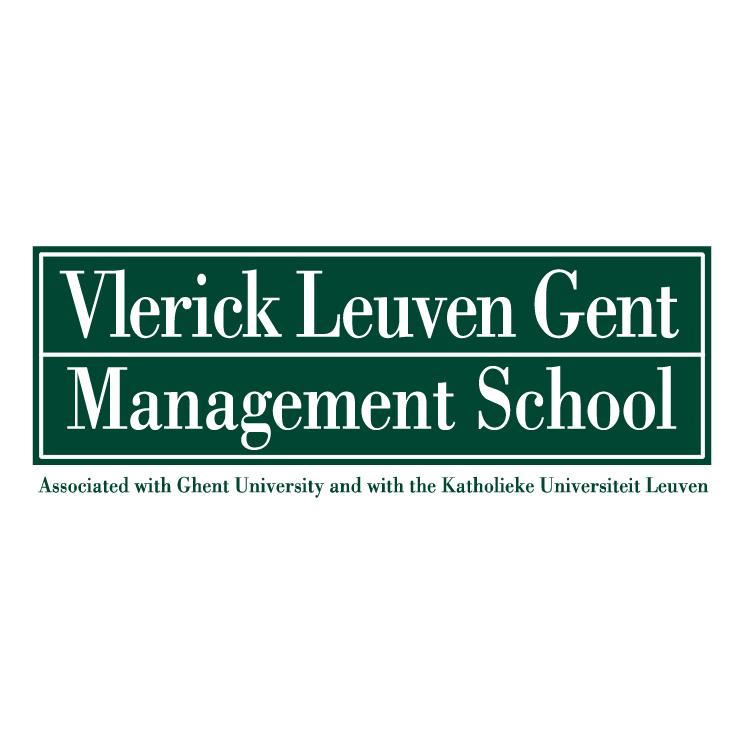 free vector Vlerick leuven gent management school