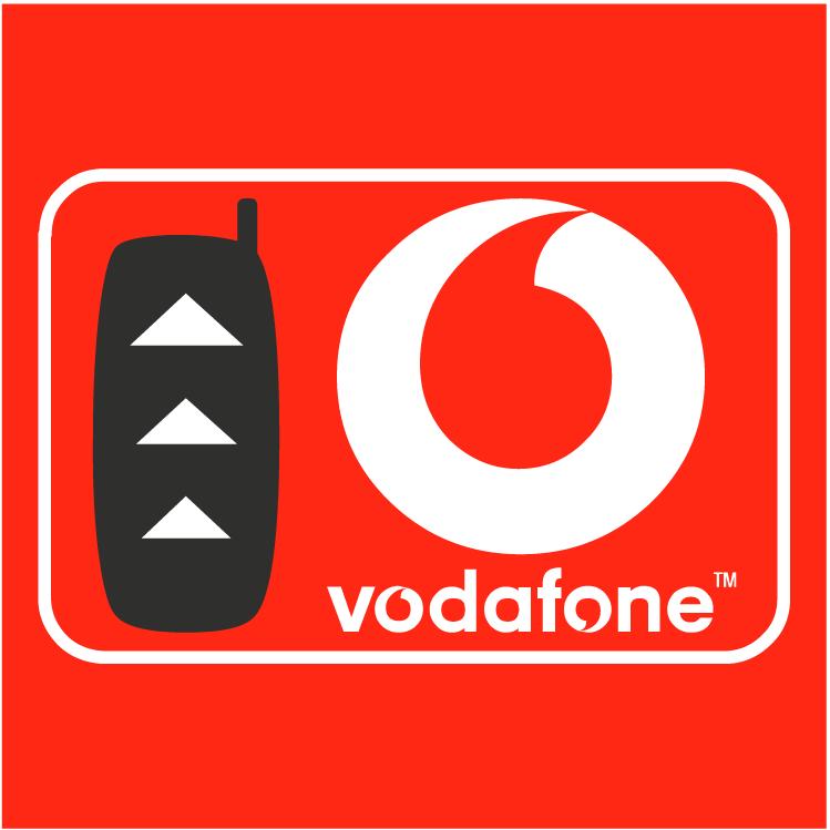 Vodafone Logo Vodafone 6 is Free Vector Logo