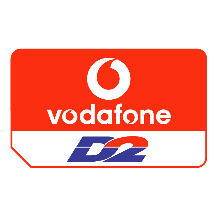 free vector Vodafone d2