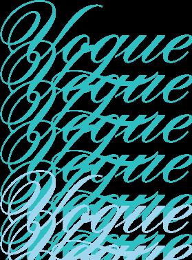 free vector Vogue logos