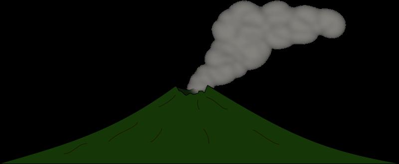 free vector Volcano 2