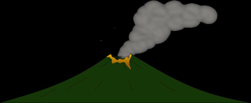 free vector Volcano