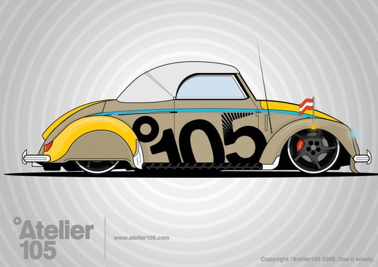 free vector Volkswagen Beetle Graphics