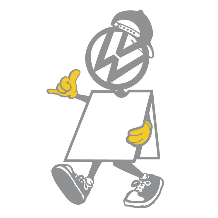 free vector Volkswagen promotion