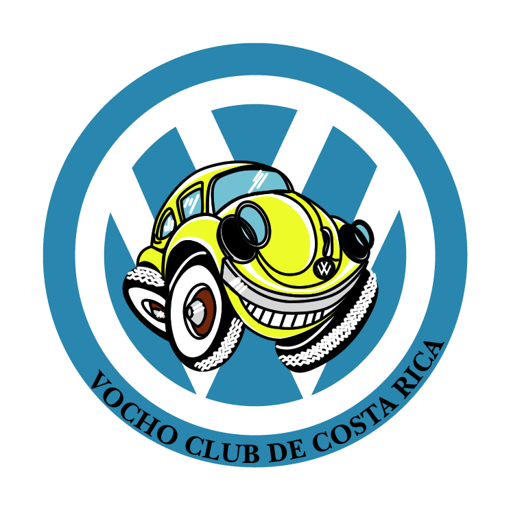 free vector Volkswagen vocho club de costa rica