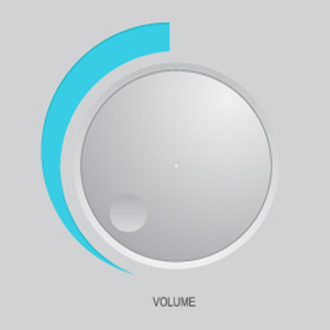 free vector Volume Knob
