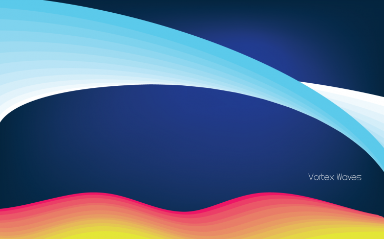 free vector Vortex Waves