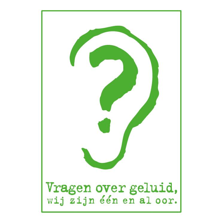 free vector Vragen over geluid