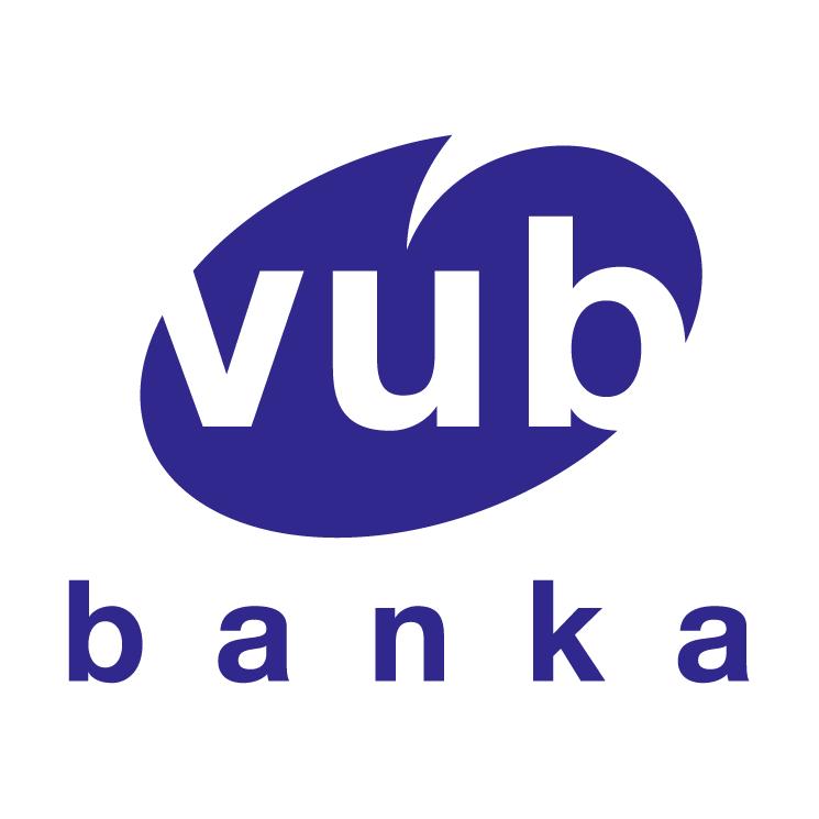 free vector Vub banka
