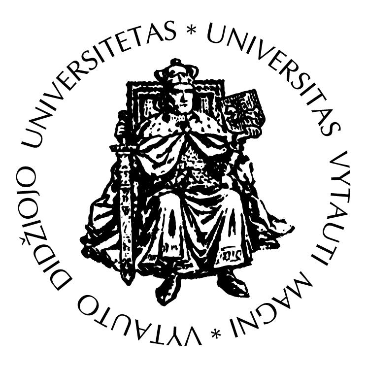 free vector Vytauto didziojo universitetas