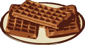 free vector Waffles clip art