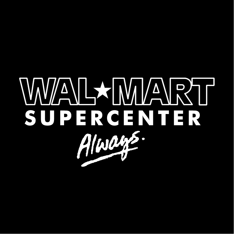 free vector Walmart supercenter always