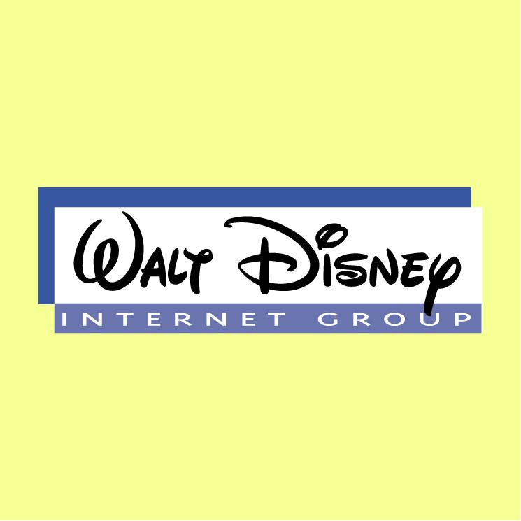 free vector Walt disney internet group