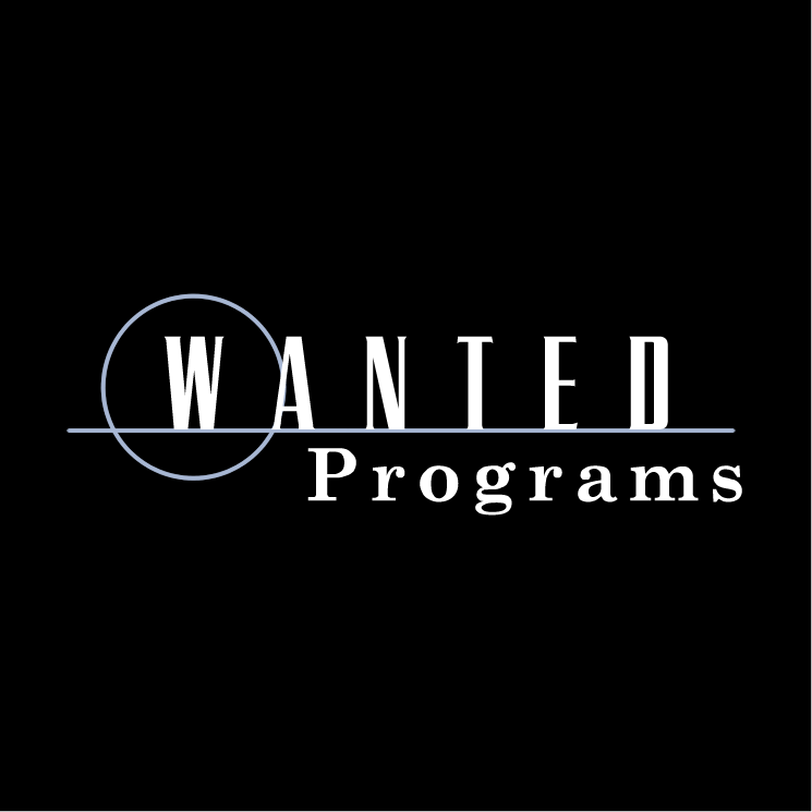 free vector Wanted programs