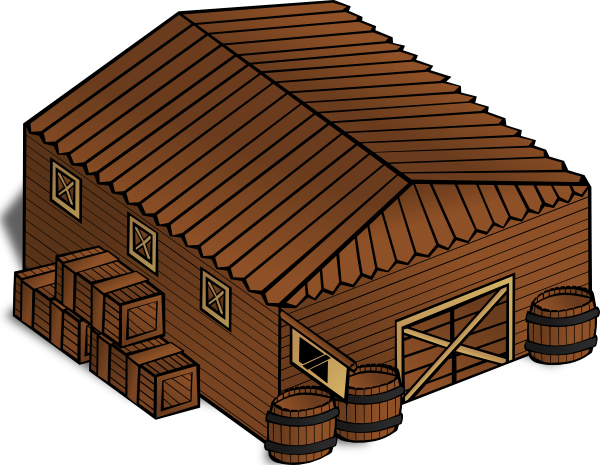 free vector Warehouse clip art