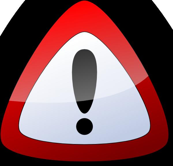 free vector Warning Danger Sign clip art