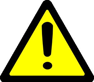 free vector Warning Sign clip art