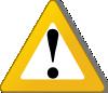 free vector Warning Yellow clip art