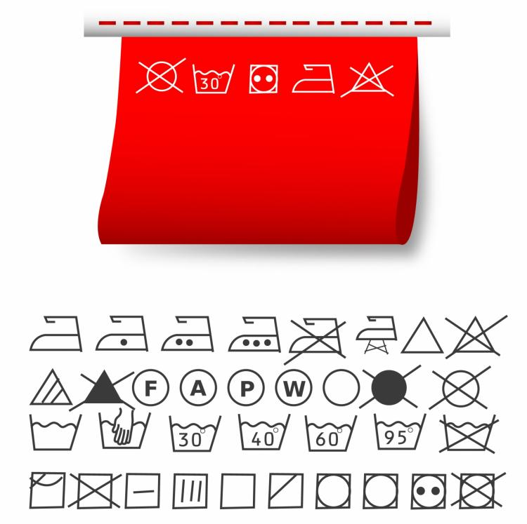 Washing symbols free vector 4vector free vector washing symbols biocorpaavc Image collections
