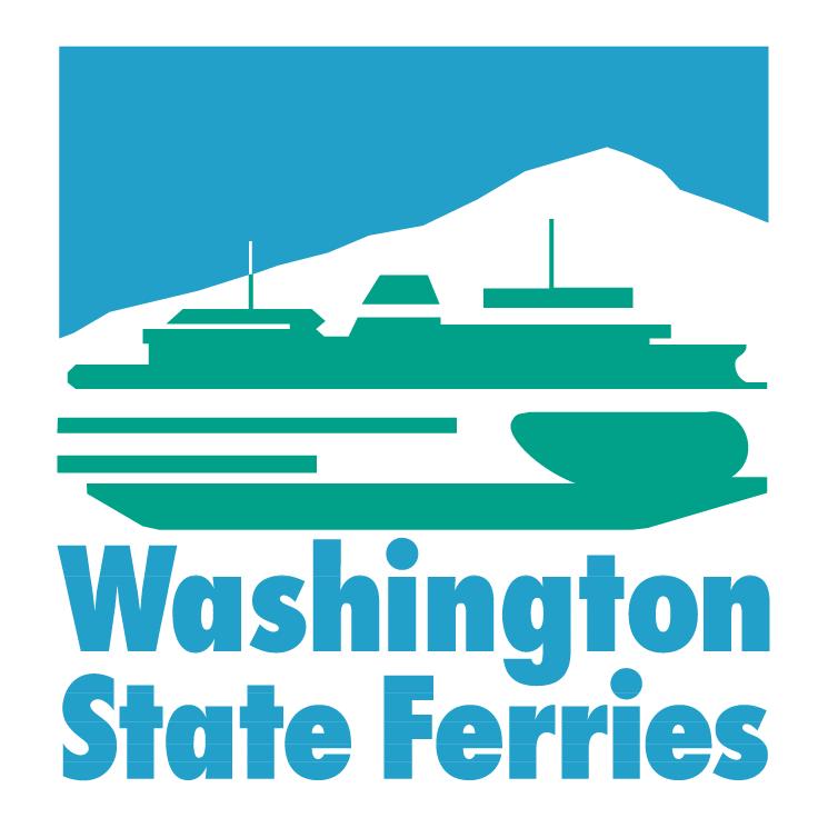 free vector Washington state ferries