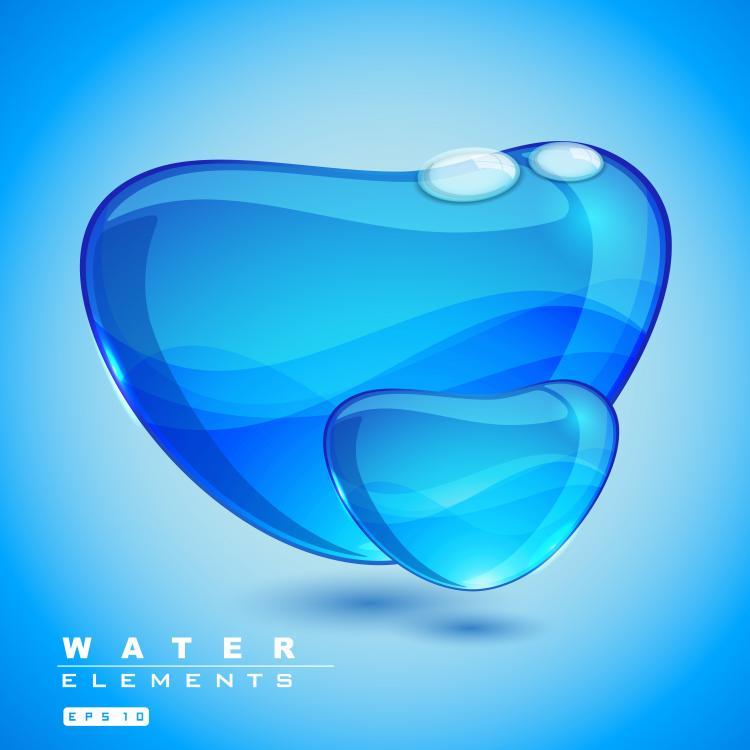 Water Design Vector Water 01 Vector