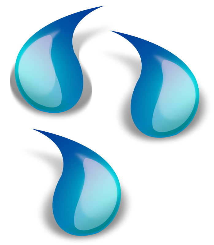 free vector Water drop 1