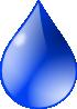 free vector Water Drop clip art