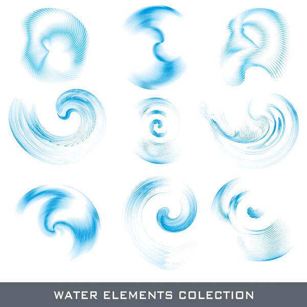 free vector Water element vector
