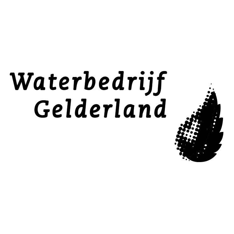 free vector Waterbedrijf gelderland