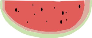 free vector Watermelon  clip art