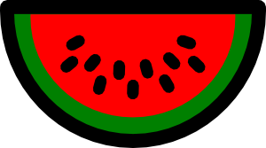 free vector Watermelon Icon clip art