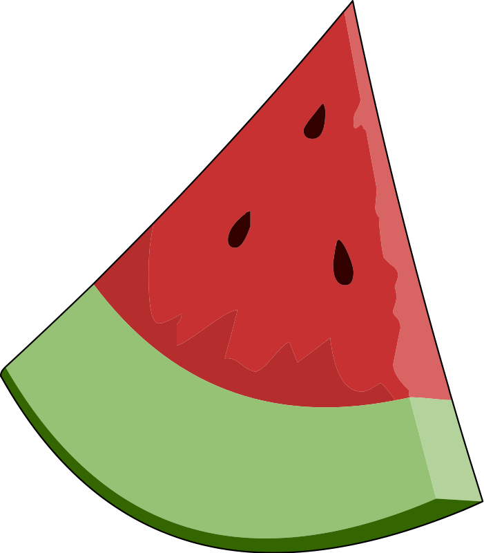 Free Vector Watermelon Slice Wedge 100842 Wedgepng Clipart - Free ...