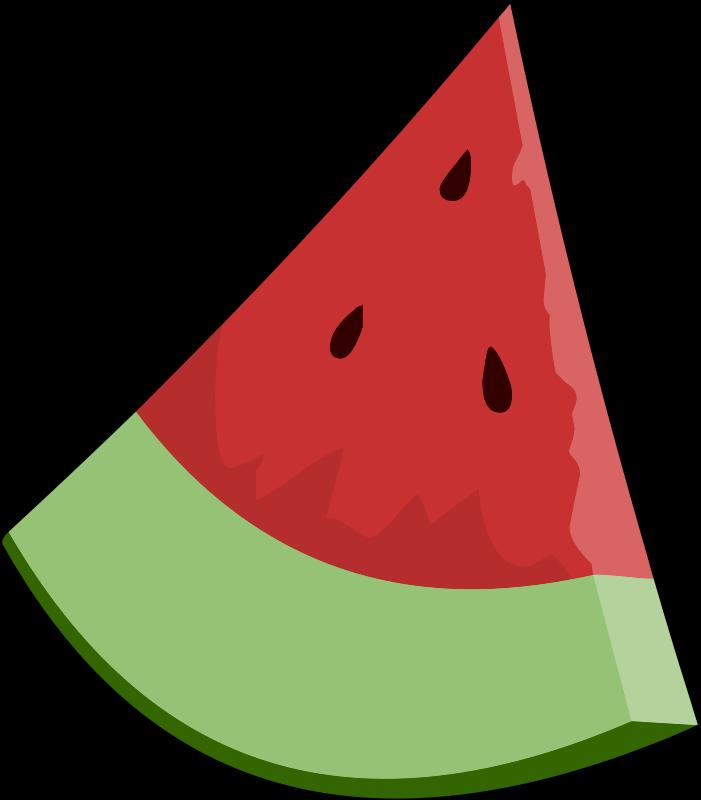 free vector Watermelon Slice Wedge