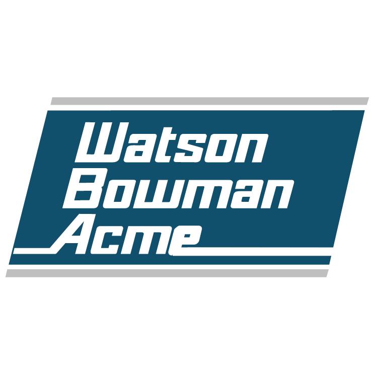 free vector Watson bowman acme