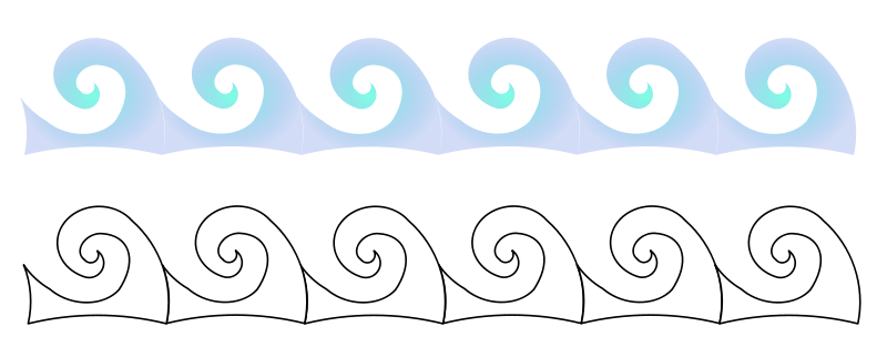 free vector Waves
