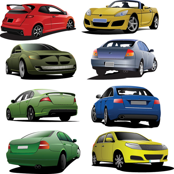 free vector We are car vector
