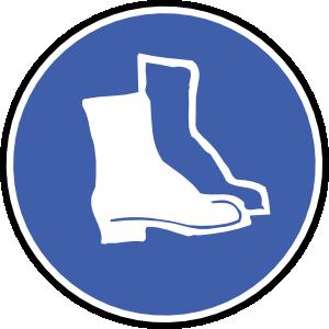 free vector Wear Shoes clip art