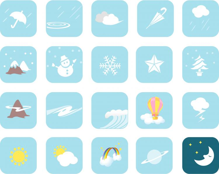 free vector Weather Vector Symbols
