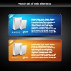 free vector Web design decorative elements vector 2