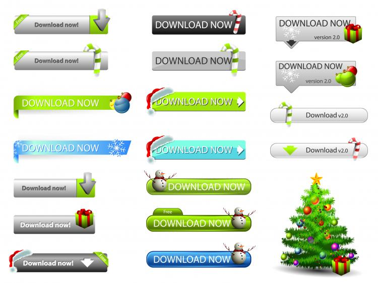 free vector Web design elements 02 vector