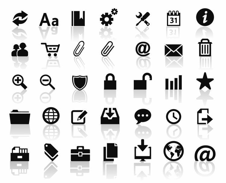 Web icons Free Vector / 4Vector