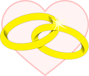 free vector Wedding Rings2 clip art