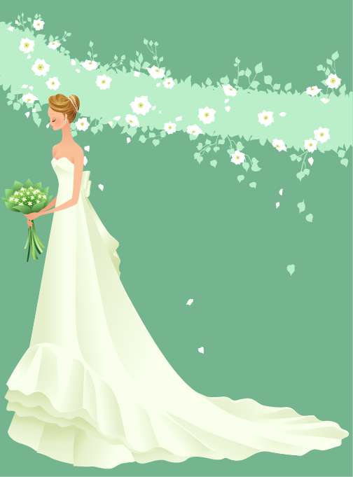 free vector Wedding Vector Graphic 36