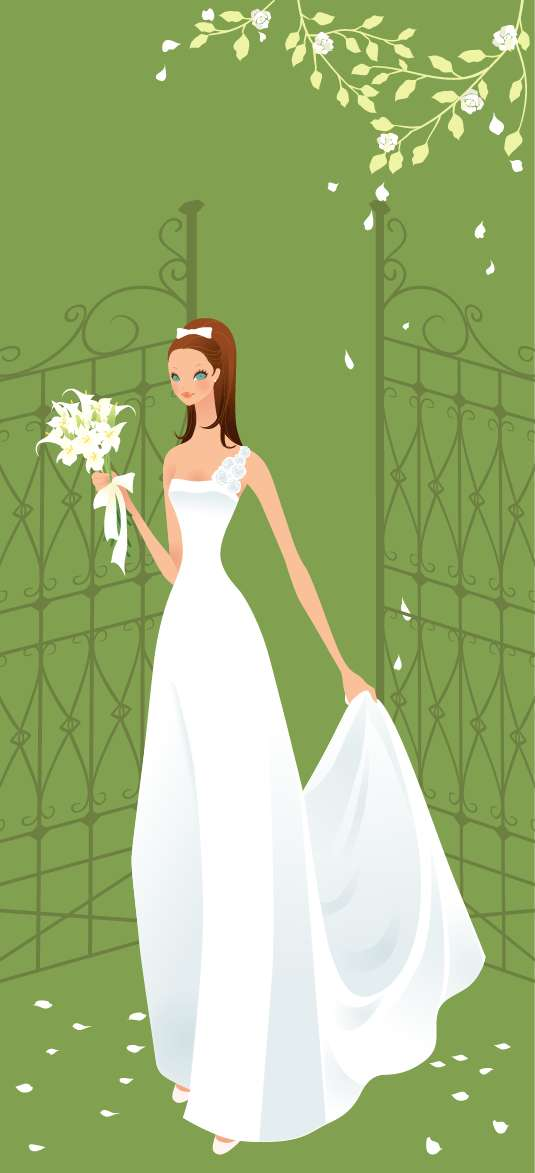 free vector Wedding Vector Graphic 6