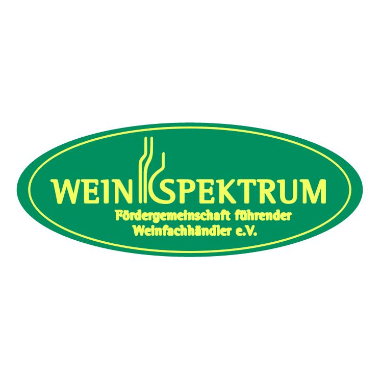 free vector Wein spektrum