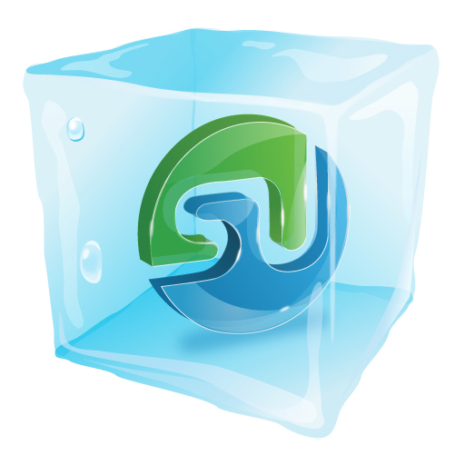 free vector Were frozen web20 icon vector